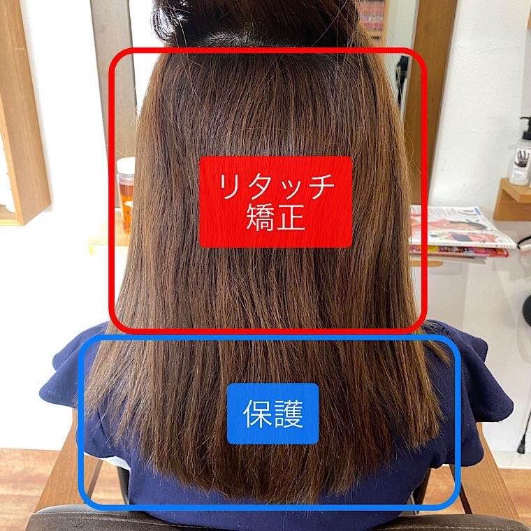 縮毛矯正施術方法