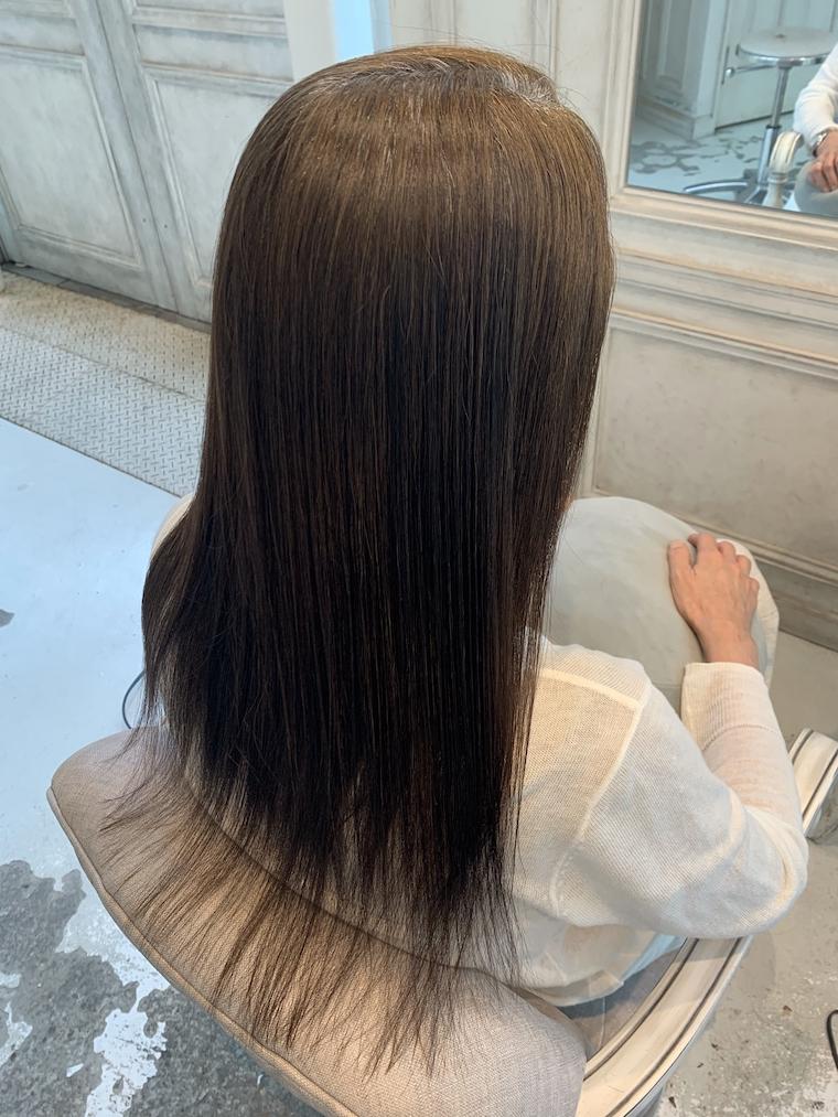 野坂の縮毛矯正AFTER