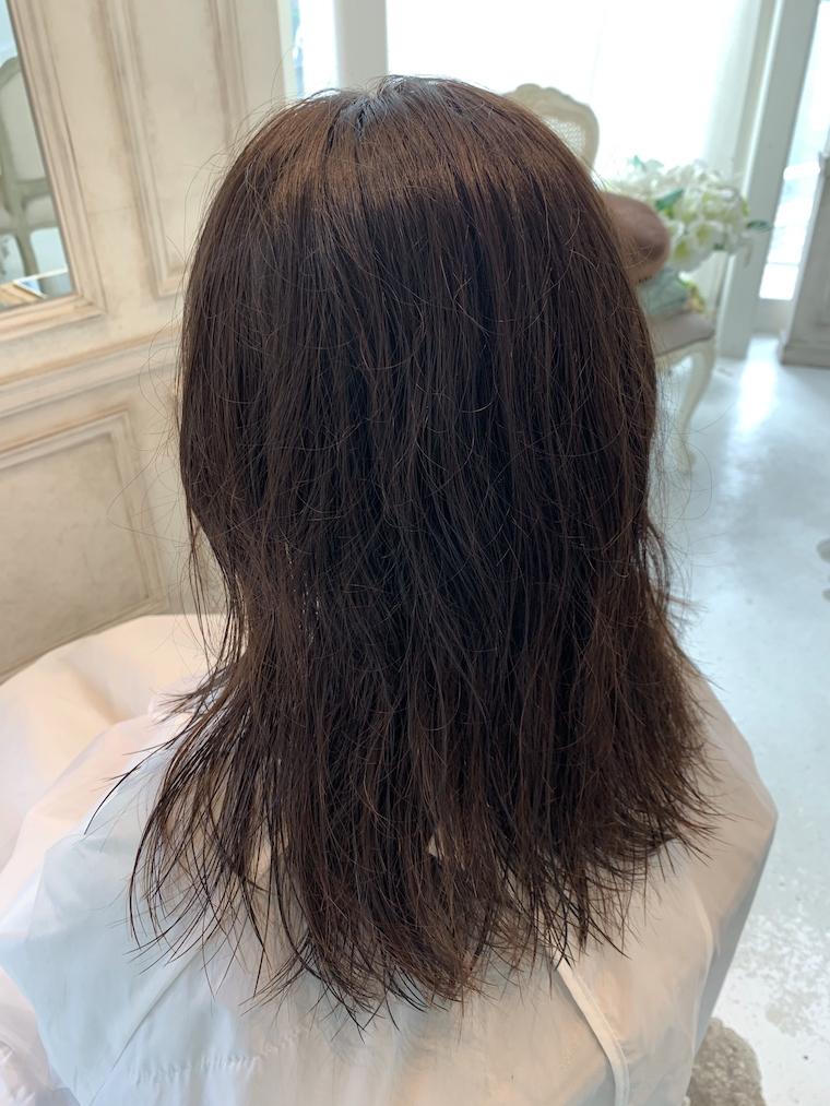 野坂の縮毛矯正BEFORE